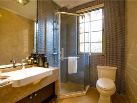 小型卫生间玻璃简易淋浴房装修图片