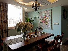 100平美式乡村复式客厅装修效果图