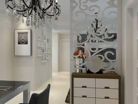现代简约风格客厅餐厅隔断装修效果图-现代简约风格餐边柜图片
