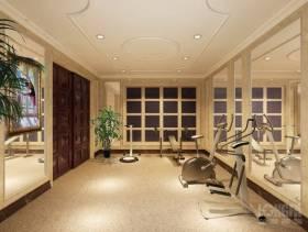 欧式风格健身房装修效果图