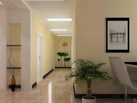 现代风格大户型客厅玄关装修效果图