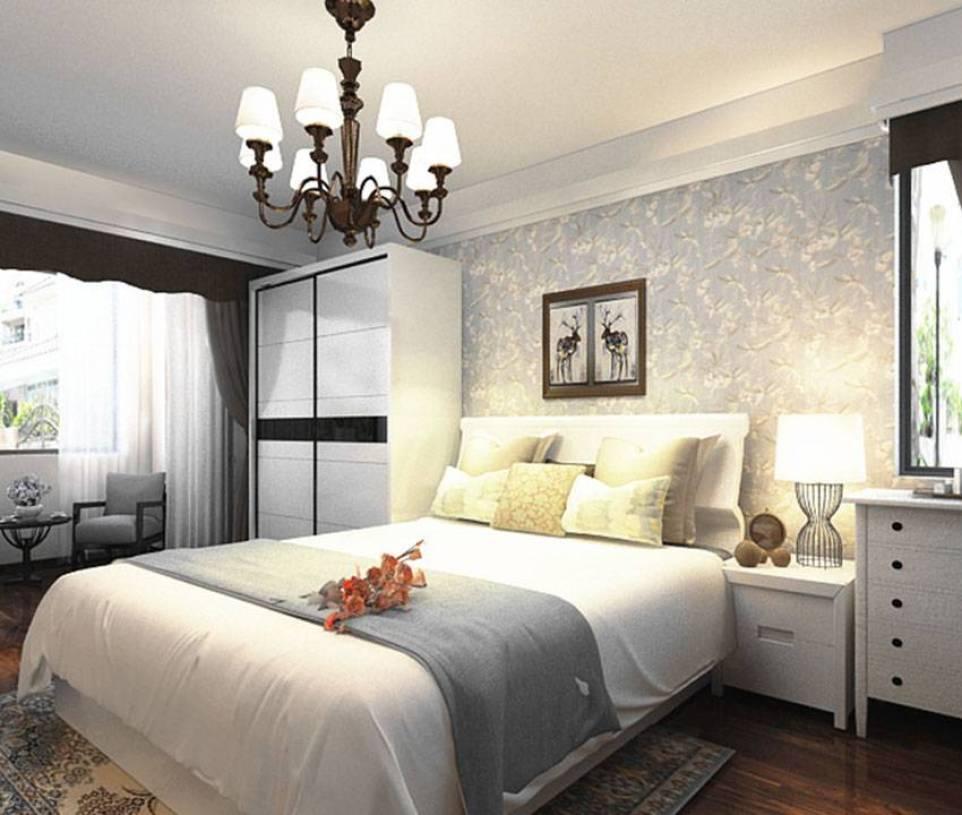 时尚温馨的卧室装修效果图