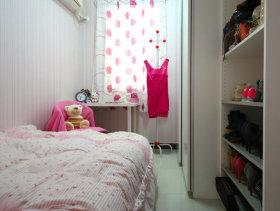 简约风格7平米女生合租卧室大改造