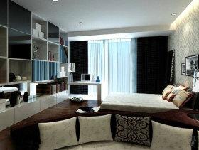 42平米一居室现代风格卧室装修效果图