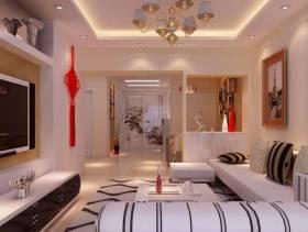 2013现代风格客厅装修效果图