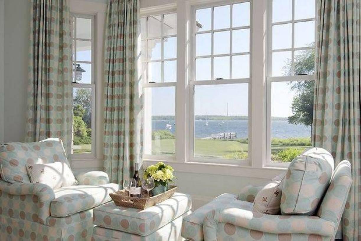 简约风格阳台窗帘装修图片-简约风格单人沙发图片