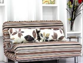 美式风格小户型折叠沙发效果图