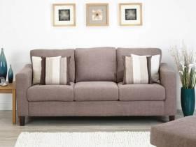 简约风格小户型小客厅沙发背景墙装修效果图-简约风格沙发图片