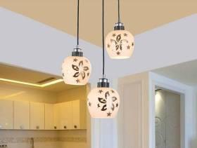 现代风格餐厅水晶吊灯图片