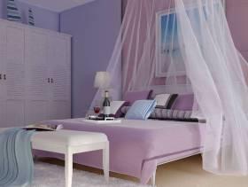 96平地中海风格二居卧室装修效果图,地中海风格红木整体衣柜图片