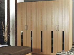 简约风格卧室背景墙装修图片-简约风格板式家具图片