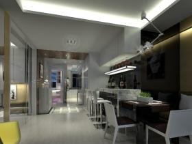 2013现代风格餐厅装修效果图