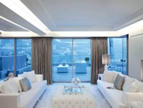 简约风格客厅墙面颜色装修效果图