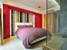 36平方米小户型一居室卧室装修效果图