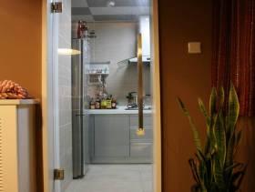 116㎡现代风格厨房装修图片-现代风格厨房门图片