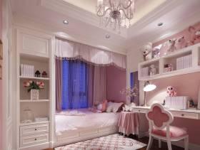 别墅女生卧室装修效果图
