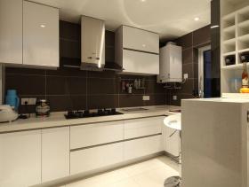 现代简约风格厨房装修图片-现代简约风格橱柜图片