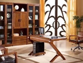 中式风格书房转椅图片