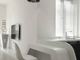 现代风格建议厨房吧台效果图