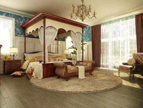 128平米婚房现代三居卫浴间装修效果图
