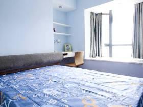 现代风格小卧室飘窗装修图片