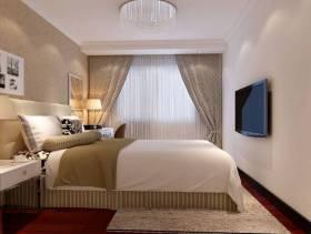 现代风格65平米小户型卧室