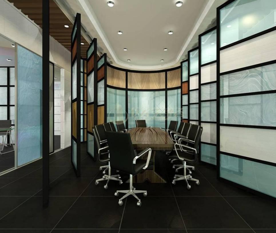 现代简约风格办公室隔断装修效果图-现代简约风格办公