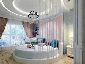 欧式风格女生卧室吊顶装修效果图-欧式风格床头柜图片