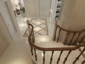 200㎡大户型简约欧式风格楼梯装修效果图
