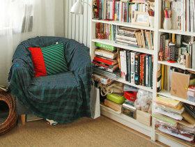 48平一居室家居装修效果图