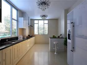 360㎡简约欧式风格厨房装修效果图-简约欧式风格橱柜图片