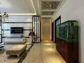 简欧风格客厅电视背景墙装修效果图-简欧风格脚凳图片