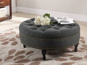 欧式风格客厅沙发脚凳图片