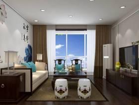 小客厅侧面家具图片