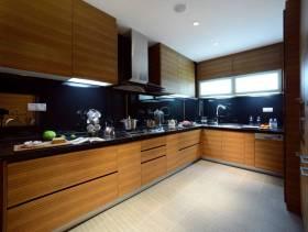 后现代风格厨房吊顶装修图片-后现代风格整体橱柜图片