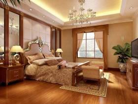 欧式风格公寓卧室吊顶装修效果图