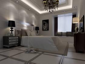122平欧式风格卧室吊顶装修效果图,欧式风格飘窗图片
