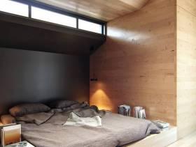 简约风格小户型小卧室背景墙装修图片