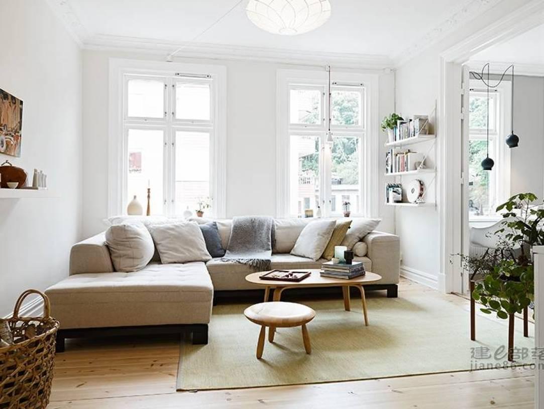北欧沙发客厅装修吊顶风格-北欧物体风格图片室内设计形状图片图片