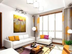 简约风格客厅沙发背景墙装修效果图-简约风格单人沙发图片