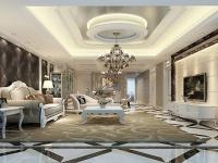 大客厅简欧装修,别墅更显高大上