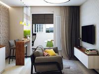 单身公寓装修设计这样做更好看!