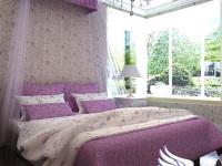 色彩壁纸装扮客厅 色彩彩绘家居