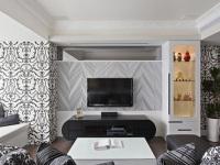 怎么设计现代简约电视墙?