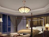 选对现代简约卧室灯 散发温暖的光亮