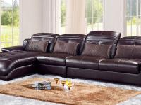真皮沙发保养得好,每天都是新客厅!