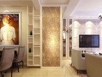 卧室客厅的隔断装修 界限分明美观实用