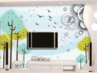 合理装饰电视背景墙,打造家装好风水