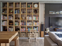 书架设计摆放怎么做? 打造气质好书房