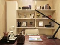 现代简约风格书房如何设计?